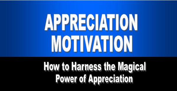 Appreciation Motivation